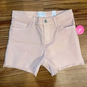 NWT! Children's Place Pink High Waisted Shorts 10Y